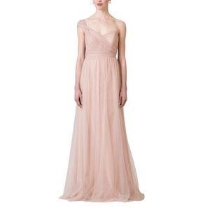 BHLDN Jenny Yoo Annabelle Dress in Blush